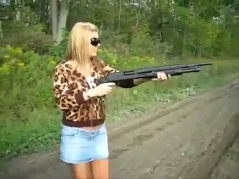 guns with Amateur girls