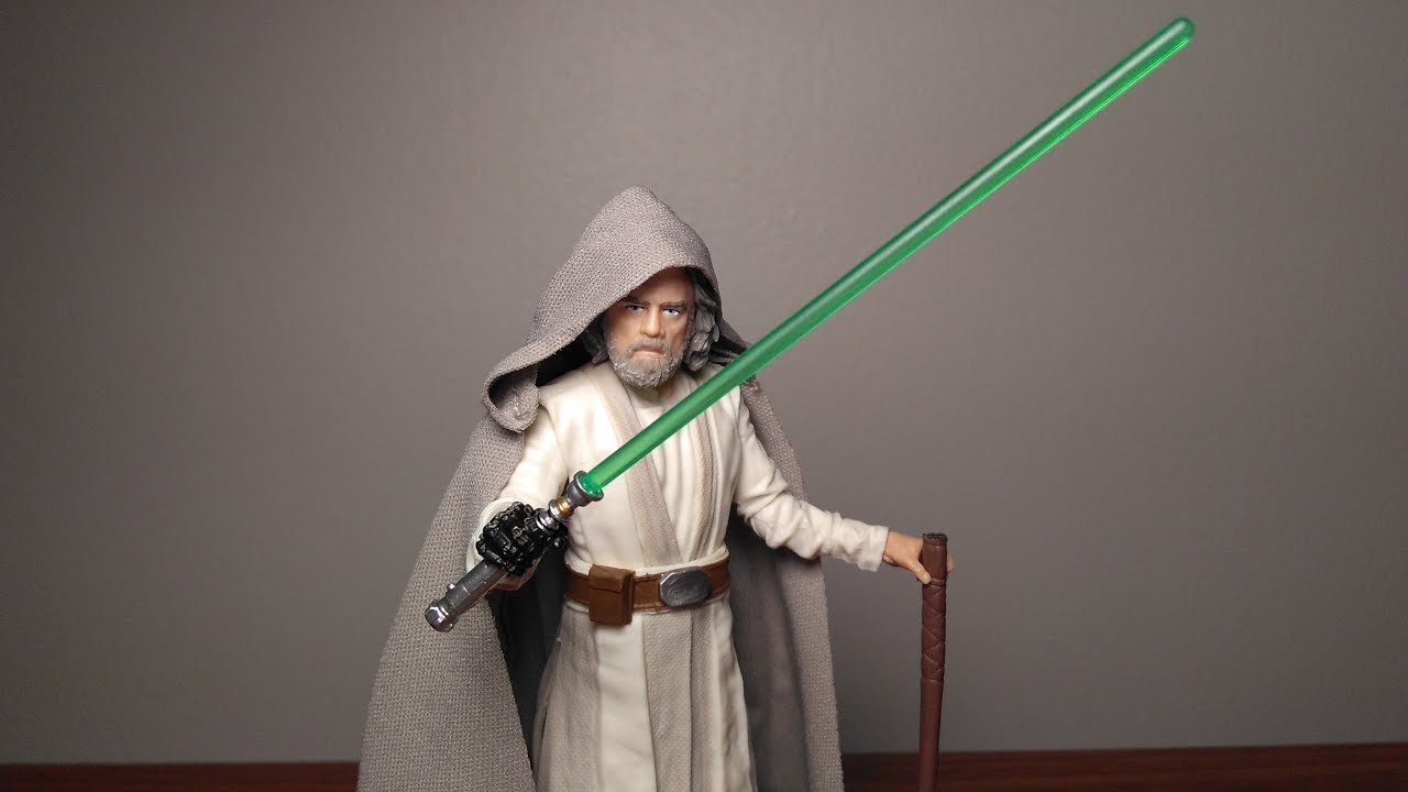 "6"" Luke Skywalker (Jedi Master) The Last Jedi Black Series ..."