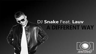 DJ Snake ft. Lauv - A Different Way (Visualiser)