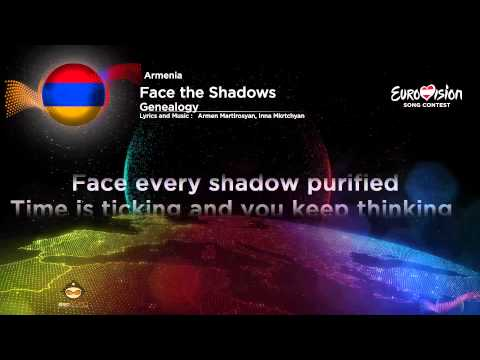 Geanealogy - Face the Shadows (Armenia) Karaoke Version