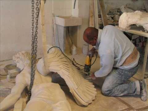 Como se hace una escultura monumental doovi for Como se hace el marmol