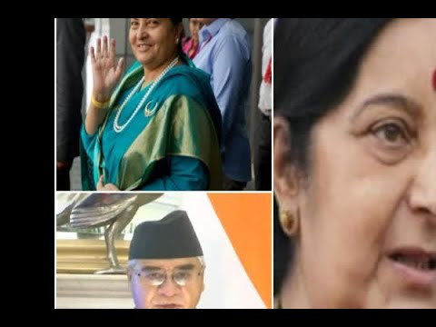 In Graphics: Sushma Swaraj on a two day visit to Nepal