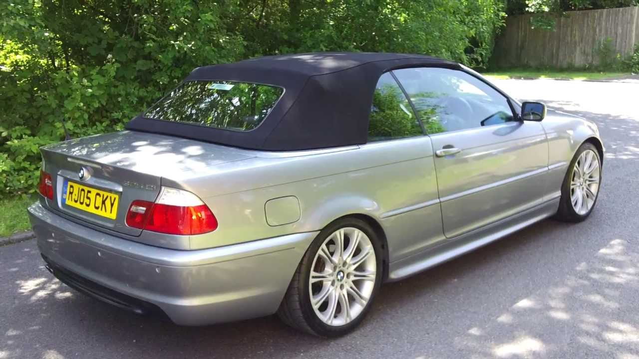 2005(05) bmw 325ci m sport e46 convertible automatic steptronic