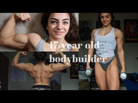 17 Years Old Female Bodybuilder - Amazing Strength