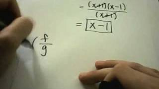 Functions: Multiplying and Dividing