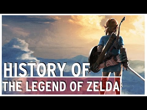 History of - The Legend of Zelda (1986-2017)