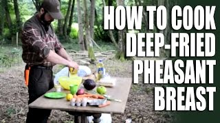 Delicious Deep-fried Pheasant Breast - The Pre-season Freezer Pleaser