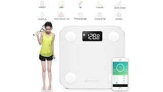 YUNMAI Mini Smart Fat Scales - Gearbest.com