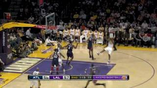 Hawks vs. Lakers--Nov 1, 2009 [HD]
