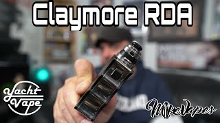 The Claymore Single Coil RDA By Yacht Vape