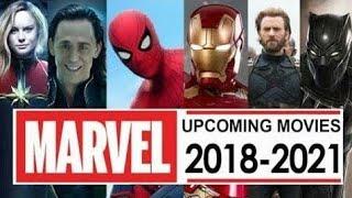Upcoming Marvel Movies 2018 - 2021_HD