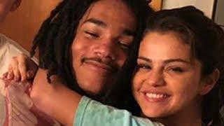 Selena Gomez ALL OVER RANDOM Guy! Who Is He?!