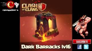 Clash of Clans | Próxima Actualización | Confirmado el Cuartel Oscuro llega a Nivel 6 !!!