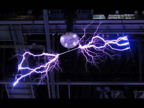Tesla Coil Lightning Tampa Bay Lightning Amalie Arena Lightning Tampa Bay Times Forum Lightning