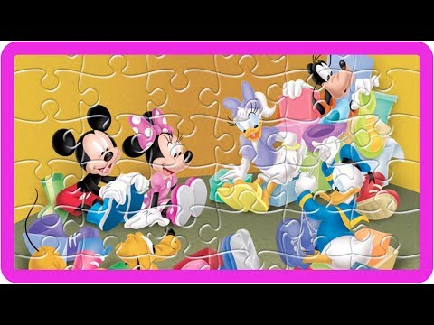 Mickey Mouse Jigsaw Puzzles