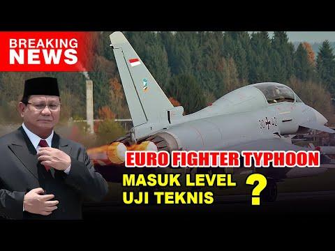 Kabar Terkini Tentang Kelanjutan Indonesia Membeli Eurofighter Typhoon dari Austria !