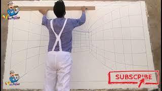 3D TÜNEL ÇİZİMİ- ÜÇ BOYUTLU TÜNEL ÇİZİMİ - HOW TO DRAW 3D TUNNEL DRAWING ?, رسم نفق ثلاثي الأبعاد