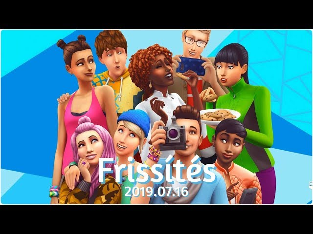 The Sims 4: Frissítés | 2019.07.16