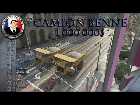 GTA 5 Online Camion Benne 1 000 000$