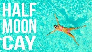 Half Moon Cay Bahamas Island Tour by Drone