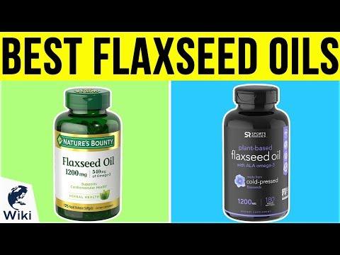 10 Best Flaxseed Oils 2019