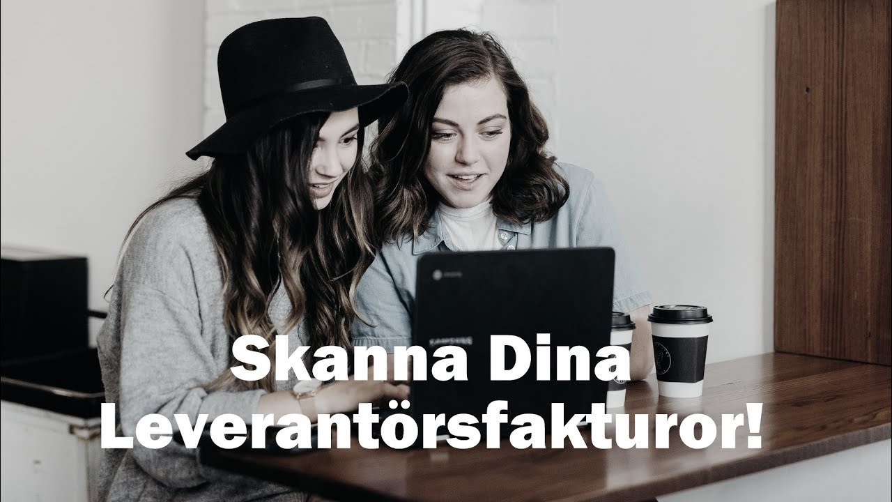 swinx scanlev skanna fakturor till visma youtube