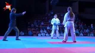 Соревнования по каратэ в Орле