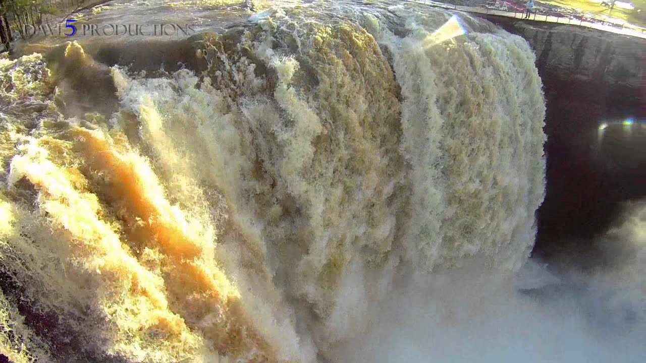 Noccalula Falls Flooded! - YouTube