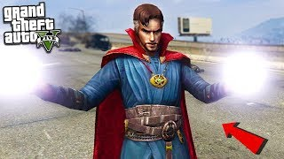 DR STRANGE MOD w/POWERS - GTA 5 Mods
