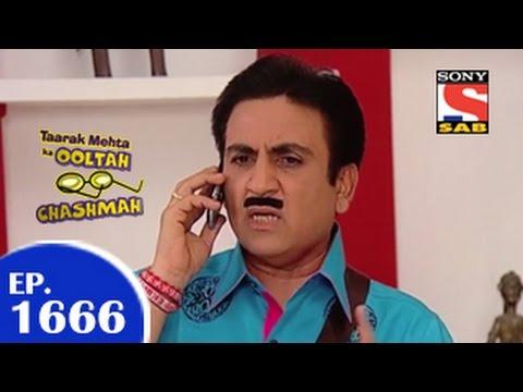 Taarak Mehta Ka Ooltah Chashmah - तारक मेहता - Episode 1666 - 6th May 2015
