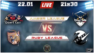 🔴Clash Of clans CCF ligue Amber & Ruby🔴