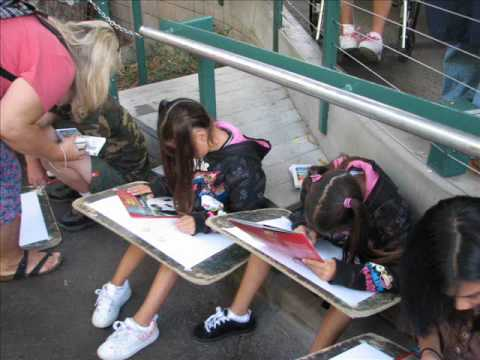 The Children's Rainforest - Art Therapy at the zoo