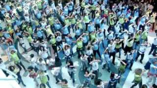 Flash Mob Dance - Norte Shopping 9th January,2010.MPG