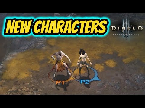 Diablo 3 | Gaming With My Girlfriend - New Characters!!