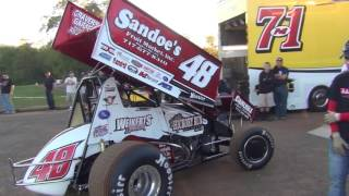 Lincoln Speedway 410 Sprint Car Highlights