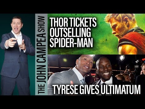 Tyrese Gives Ultimatum To Universal About The Rock - The John Campea Show