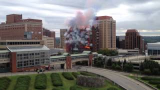 Wellington Hotel Annex Implosion