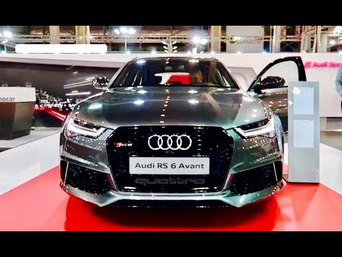 NEW 2018 Audi RS6 - Exterior & Interior - YouTube