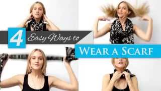 How to Tie a Scarf -- Island Spice Accessories Thumbnail