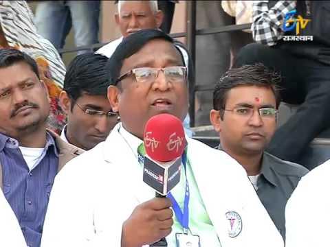Janmanch (जनमंच) - Problems In SMS Hospital - 28th Feb 2016 - ETV Rajasthan