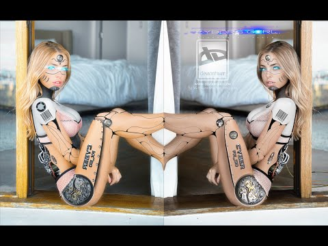 Tutorial-Adobe © Photoshop® Manipulation-)---- -)---- ►Cyborg-Girl-SD-FX