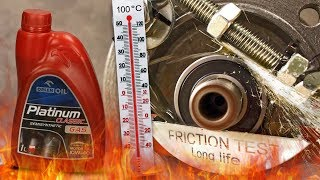 Orlen Platinum Classic Gas 10W40 Jak skutecznie olej chroni silnik? 100°C