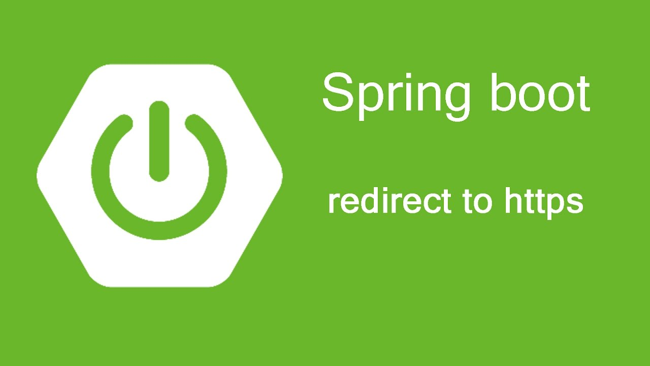 Spring Boot - Redirect to https