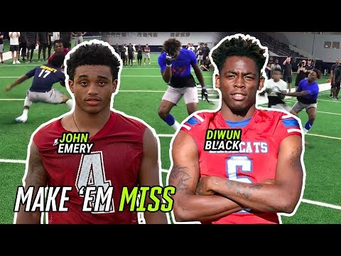 John Emery And Country's Best RBs Put Defenders On SKATES! Ole Miss Commit Diwun Black Is A SAVAGE
