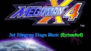 Mega Man X4 (OST) - Jet Stingray Stage Music (Super Extended)