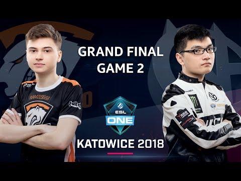 VG vs VP - ESL One Katowice 2018 Final G.2