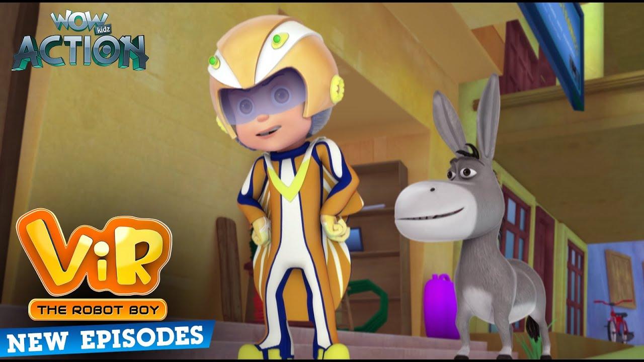 New Episodes Of Vir The Robot Boy | Ep 05 | Wow Kidz Action