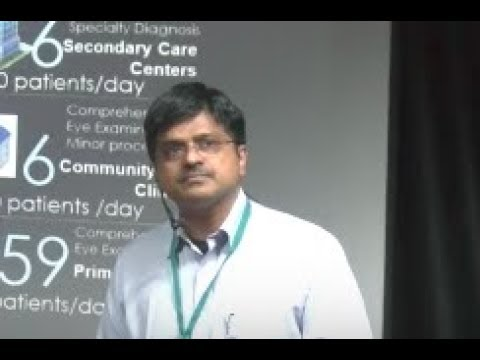 Aravind Eye Care Model: High Volume, High Quality Eye Care | Dr. George Puthuran | TEDxIITPatna