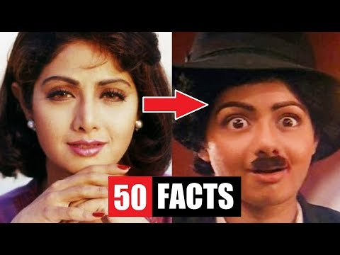 Download Youtube: 50 Facts You Didn't Know About Sridevi