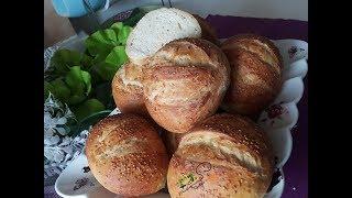 Mini Susamlı Ekmekler l Mutfağımdan Tadlar l Nefis Tarifler
